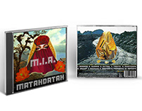 "M.I.A. ""Matahdatah"" CD Album Mockup"