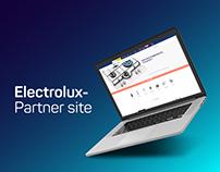 Electrolux-Partner site