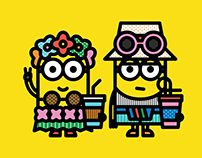 Minions by Craig & Karl