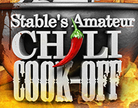 Stable 2014 Chili Cook Off Poster