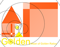 Logo: Golden Mean of Golden Ratios - Part 1