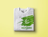Pakistan Independence Day T-shirt