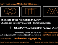 Animation Industry Talk @ Adobe for SF ACM SIGGRAPH