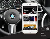 BMW community app - concept
