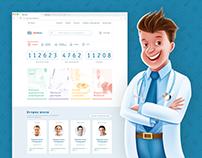 Portal reviews of clinics and doctors