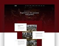 Heidelberg Symphony Orchestra - Website Design