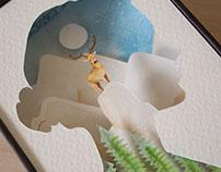 Nature Within - Paper cut Diorama