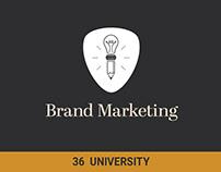 Branding: 36 University