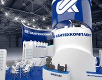 Exhibition stand for SANTEKHKOMPLEKT