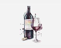 Croissant Cafe / Wine Cart