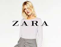 ZARA - design pages