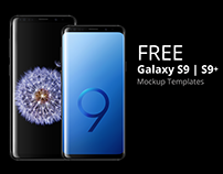 Samsung Galaxy S9 Mockup | FREE DOWNLOAD