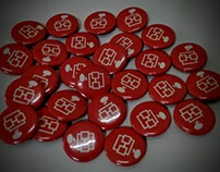 Botones de 25 mm. para NERDCUBE