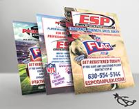 NFL Flag Football Printed Information Sheets