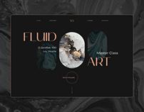 Fluid Art | Landing Page