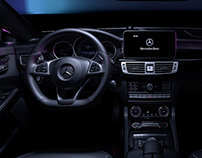 CGI | Mercedes Benz CLS - Interior - Dark