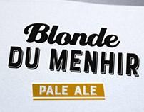 Création bière blonde, graphiste loolye Labat
