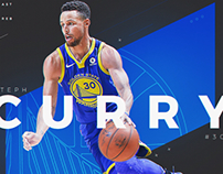 Steph Curry - Stats infographic