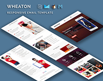 WHEATON - Responsive Email Template