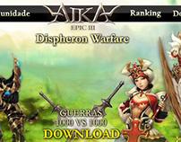 Antigo website Aika Online