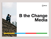 B the Change Media. Presentation slide stack