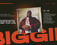 THE NOTORIOUS B.I.G. BIOGRAPHY