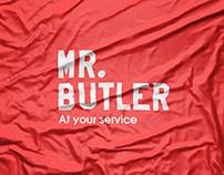 Mr.Butler Logo design & Brand identity