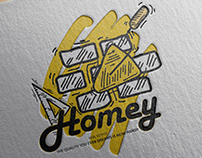 LOGO PROJECT - HOMEY-