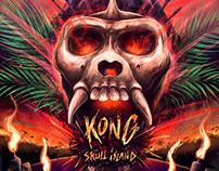 Kong: Skull island Alternative Movie Poster