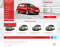 Ekspres Rent a Car Website Design
