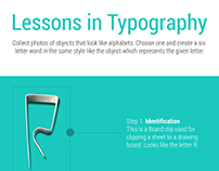 Lessons in Typography - Creating typefaces.