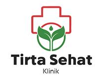 Tirta Sehat Logo Branding