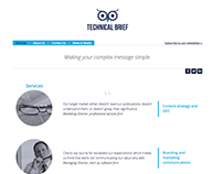 MICROWEBSITE FOR TECHNICAL BRIEF