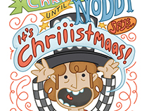 Noddy Holder - It's Chriiistmaas! - Christmas Card