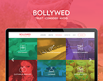 Bollyweb Website Concept
