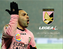 US Palermo 2011-2012 Home/Away/Third Kit