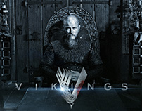 Vikings Custom Typography
