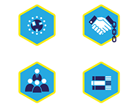 Business practices icon set