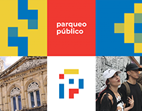 Branding Parqueo Público