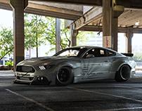 Ford Mustang Liberty Walk
