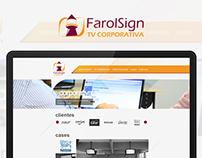 Farol Sign | Website