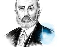Mehmet Akif Ersoy illustration