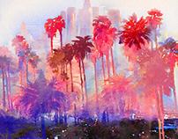 LA, O.K. — Mixed Media