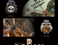 Donax Watches Advertising 2012