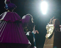 Lighting, Beauty and the Beast Jr. Firebird, 2014