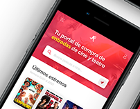 ReservaEntradas Mobile Redesign. Cinema Ticketing