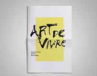 """""""Art De Vivre"""" newspaper"""