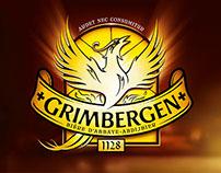 Grimbergen identité, territoire de marque & packaging