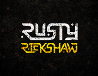 Logo Design for RUSTY RICKSHAW band