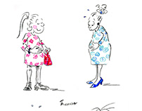 Great Expectations - Pregnancy Cartoons